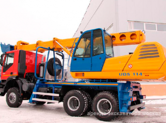 Экскаватор Tisovec UDS-114